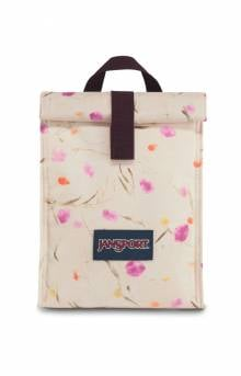 Rolltop Lunch Bag - Pressed Flowers