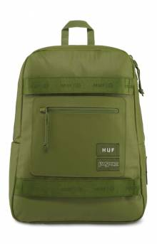 Skate Break LS  Backpack - Olive Coated Ripstop