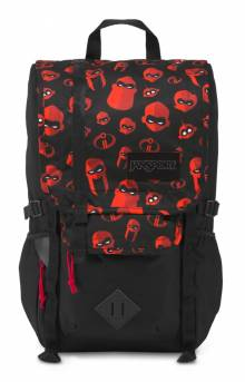 Hatchet Backpack - Family Icons Red
