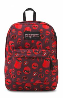 Superbreak Backpack - Family Icons Red