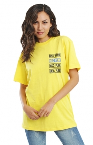 Disc Pline T-Shirt - Yellow