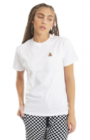 Rock Teddy T-Shirt - White