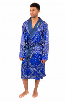 Bandana Silk Robe