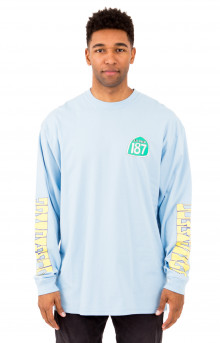 Freeway L/S Shirt - Light Blue