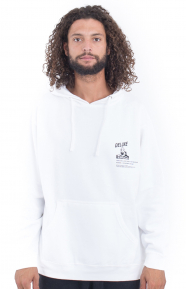 Mind Cleanser Pullover Hoodie - White