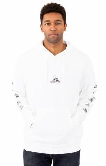 Sphinx Logo Pullover Hoodie - White
