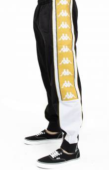 222 Banda 10 Alan Track Pants - Black/White/Gold