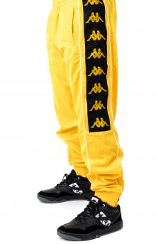 222 Banda 10 Alen Track Pants - Yellow