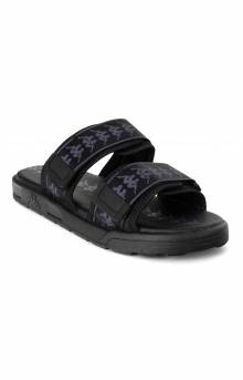 222 Banda Aster 1 Slides - Black/Dark Charcoal