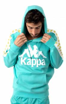 222 Banda Authentic Hurtado Pullover Hoodie - Light Green/White