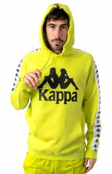 222 Banda Authentic Hurtado Pullover Hoodie - Lime Green