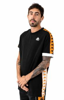 222 Banda Bismal T-Shirt - Black/Orange
