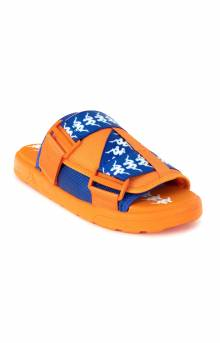 222 Banda Mitel 1 Sandals - Orange/Blue/White