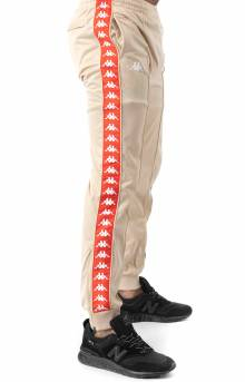 222 Banda Rastoriazz Trackpant - Beige/Red Flame