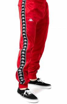 Kappa, 222 Banda Rastoriazz Trackpant - Red/Black