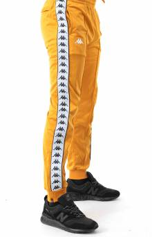 222 Banda Rastoriazz Trackpant - Yellow Ochre/White