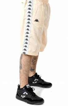 222 Banda Treadwellz Shorts - Beige/Grey Silver/Black