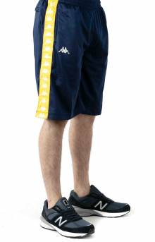 222 Banda Treadwellz Shorts - Blue Mid/Yellow