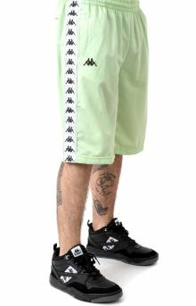 222 Banda Treadwellz Shorts - Green/Grey Silver/Black
