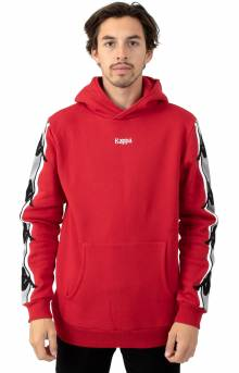 Authentic Bzaliab Pullover Hoodie - Red DK/Grey Silver