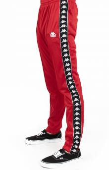 Authentic Fairfax Slim Track Pants - Red Dk/Black/White