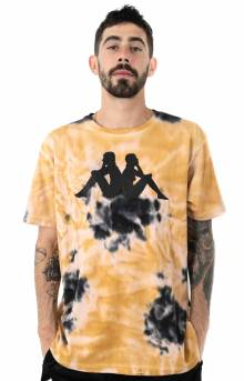 Authentic Gast T-Shirt - Beige/Black/Yellow
