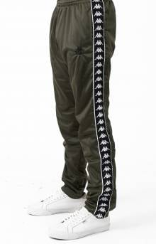 Authentic Hector Slim Fit Track Pant - Green Africa