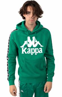 Authentic Hurtado Pullover Hoodie - Green/White