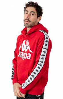 Authentic Hurtado Pullover Hoodie - Red/Black