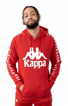 Authentic Hurtado Pullover Hoodie - Red/White