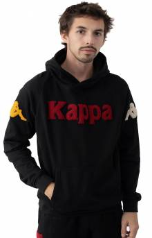 Authentic Katio Pullover Hoodie - Black/Red