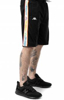 Logo Tape Aedi Short - Black/Pink Lt.
