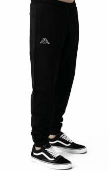 Logo Zanok Sweatpants - Black