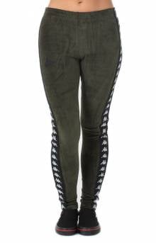 222 Banda Ammu Slim Sweatpants - Green Africa