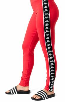 222 Banda Anen Leggings - Red/Black
