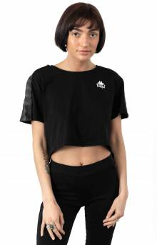 222 Banda Apua Alternating Banda T-Shirt - Black