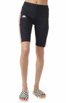222 Banda Cicles Bike Shorts - Black/Pink