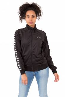 Kappa Womens, 222 Banda Wanniston Slim Jacket - Black