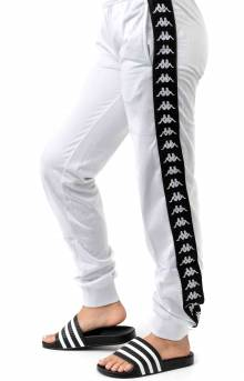 222 Banda Wrastoria Slim Track Pants - C60 White/Back