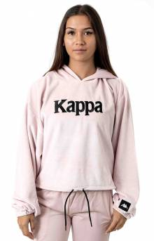 Authentic JPN Belua Velour Pullover Hoodie - Pink/White