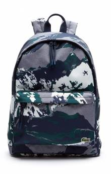 Neocroc Alpine Print Canvas Backpack - Mountain