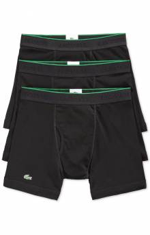(RAME103) 3-Pack Boxer Briefs - Black