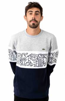 Print Fleece Sweatshirt