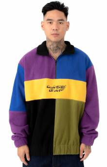 Colour Block 1/4 Zip Fleece