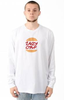 Lazy Burger L/S Shirt - White