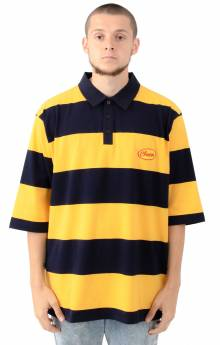 Stripy Cheese Polo Shirt