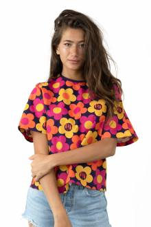 Lazyoaf 70s Floral Print T-Shirt