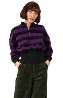 Big Rib Stripy Sweatshirt