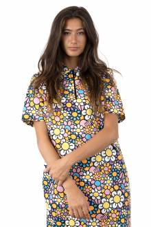 In Bloom Zippy Shirt Dress