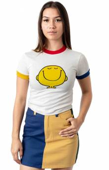 Mr. Happy Colour Block T-Shirt